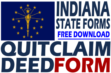 Indiana Quit Claim Deed Form