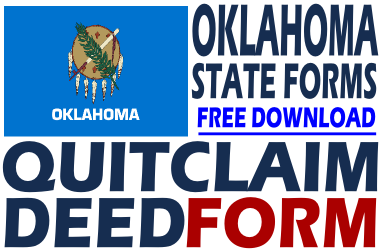 Oklahoma Quit Claim Deed Form