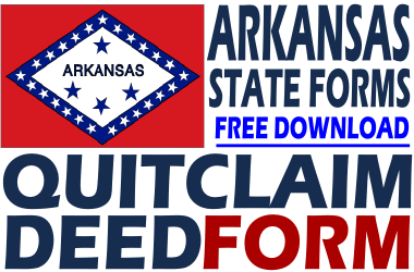 Arkansas Quit Claim Deed Form