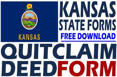 Kansas Quit Claim Deed Form