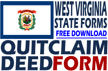 West Virginia Quit Claim Deed Form
