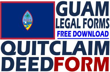 Guam Quit Claim Deed Form